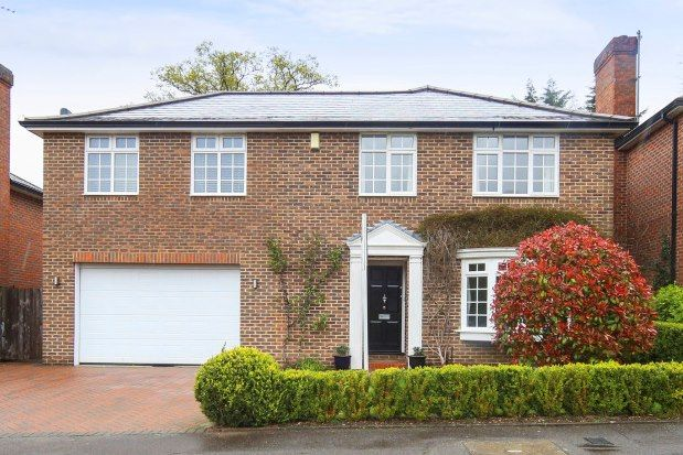 Thumbnail Detached house to rent in Churchill Drive, Weybridge