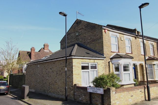 Thumbnail Semi-detached house for sale in Gloucester Road, Enfield
