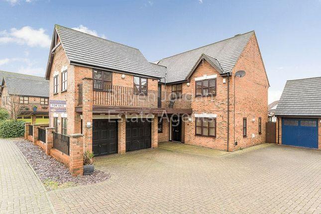 Thumbnail Detached house for sale in Cranborne Avenue, Westcroft, Milton Keynes
