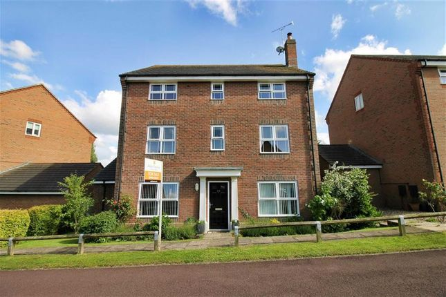 Thumbnail Detached house for sale in Otterburn Crescent, Oakhill, Milton Keynes