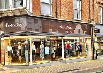 Retail premises to let in Market Place, St. Albans