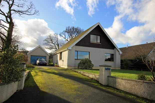 Thumbnail Detached bungalow for sale in Lon Henfryn, Pentrecwrt, Llandysul, Carmarthenshire