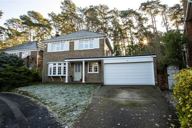 Thumbnail Detached house for sale in Grantley Drive, Fleet, Hampshire