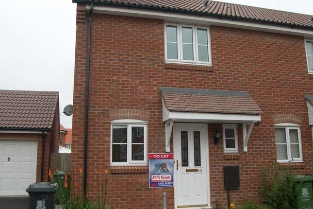 2 bed semi-detached house to rent in Horsley Drive, Gorleston, Great Yarmouth NR31