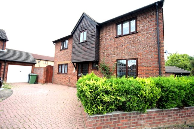 Thumbnail Detached house to rent in Hogarth Close, Bradwell, Great Yarmouth