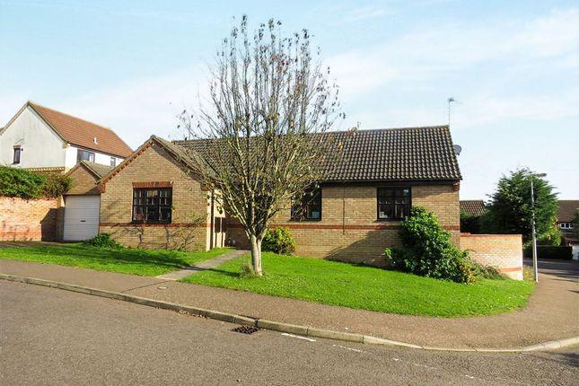 Thumbnail Detached bungalow for sale in Plantation Road, Fakenham