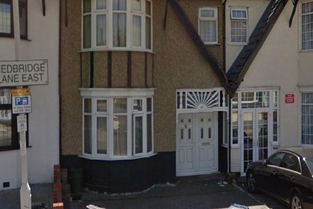 Thumbnail Terraced house to rent in Redbridge Lane East, Ilford