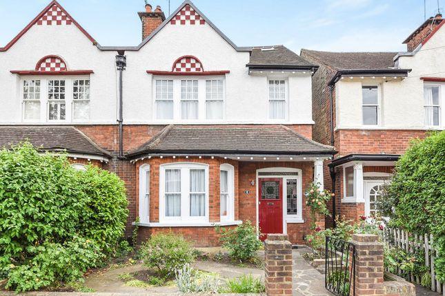 Thumbnail Semi-detached house for sale in Graemesdyke Avenue, London