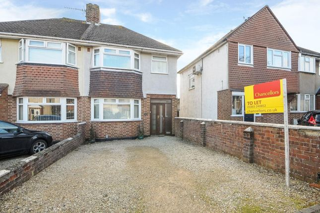 Thumbnail Semi-detached house to rent in Herschel Crescent, East Oxford