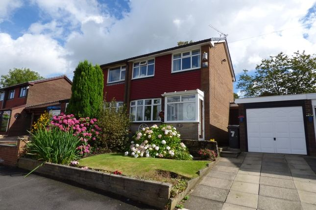 Thumbnail Semi-detached house for sale in Crossbank Avenue, Springhead, Saddleworth, Oldham, Greater Manchester