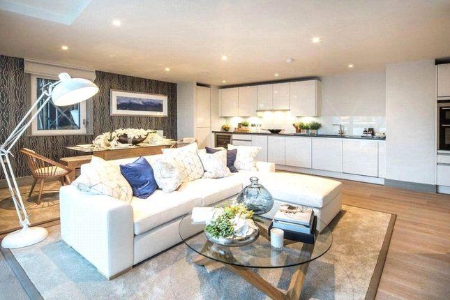 Thumbnail Flat for sale in Ivory & Calico Riverside, Battersea, London