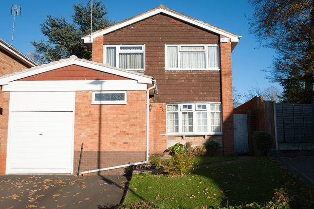 Thumbnail Detached house for sale in Elmbank Grove, Handsworth Wood, Birmingham