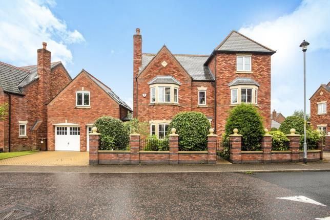 Thumbnail Detached house for sale in Ladybank Avenue, Fulwood, Preston, Lancashire