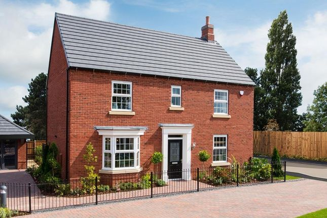 "Thumbnail Detached house for sale in ""Layton"" at Kingston Way, Market Harborough"