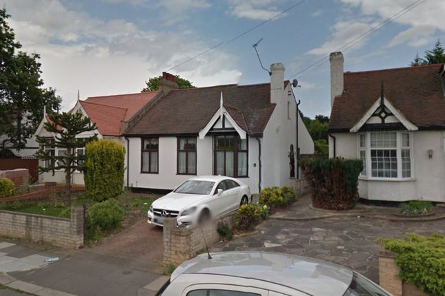 Thumbnail Semi-detached bungalow to rent in Meadway, Ilford