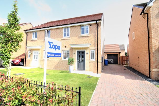 3 bed semi-detached house for sale in Ambridge Way, Seaton Delaval, Whitley Bay NE25