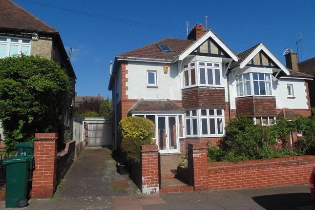 Thumbnail Semi-detached house to rent in Bavant Road, Brighton, East Sussex