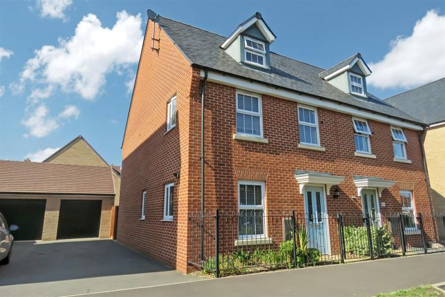 Thumbnail Semi-detached house for sale in Anderson Road, Biggleswade