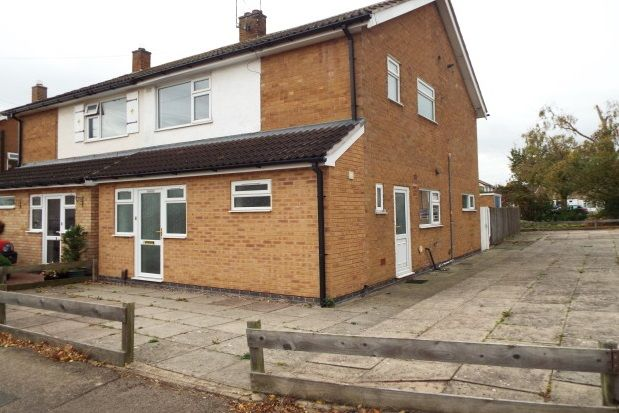 Thumbnail Semi-detached house to rent in Barnstaple Road, Leicester