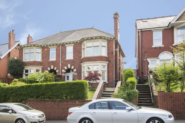 Thumbnail Flat for sale in Bassaleg Road, Newport