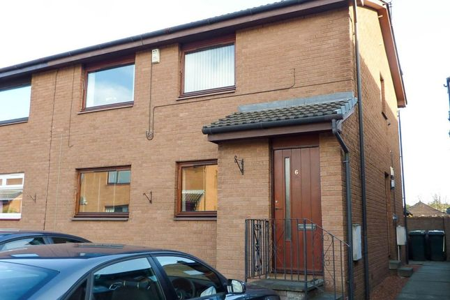Thumbnail Flat to rent in Bell Court, Grangemouth