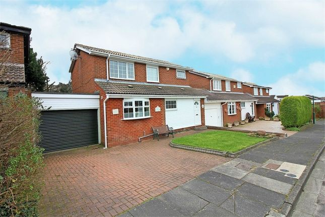 Thumbnail Link-detached house for sale in Cleadon Meadows, Sunderland, Tyne And Wear