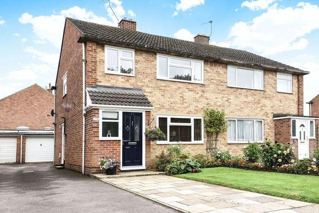 Thumbnail Semi-detached house for sale in Churchill Road, Bicester