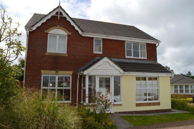 Thumbnail Detached house to rent in Coed Y Crwys, Three Crosses, Swansea