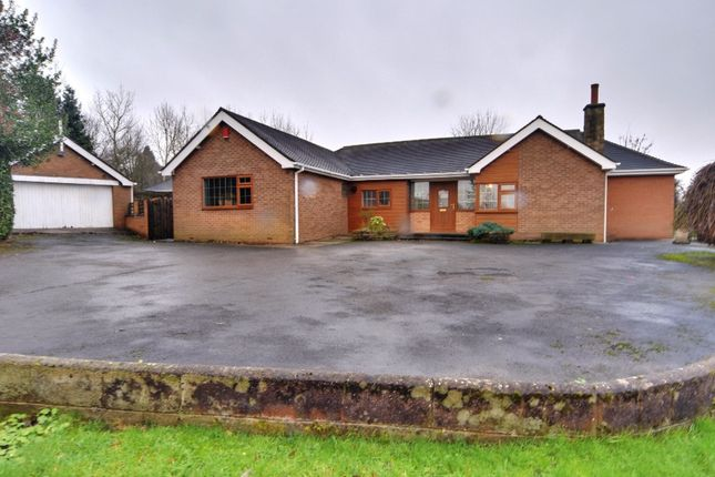 Thumbnail Bungalow for sale in Congleton Road North, Scholar Green, Stoke-On-Trent, Cheshire
