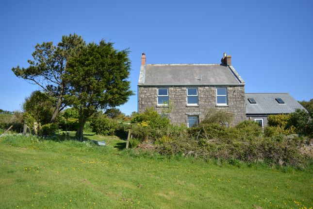 Thumbnail Detached house for sale in Leswidden, St. Just, Cornwall