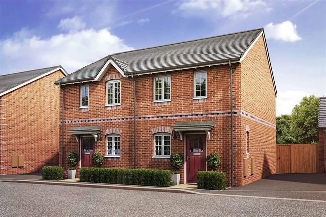 """Thumbnail Semi-detached house for sale in """"The Canford - Plot 142"""" at Daventry Road, Southam"""