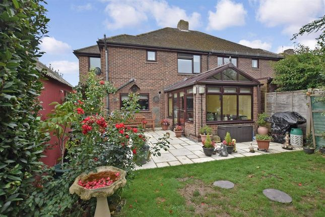 Thumbnail Semi-detached house for sale in Park Drive, Yapton, Arundel, West Sussex