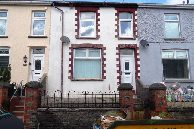 Thumbnail Terraced house to rent in Pleasant View, Porth