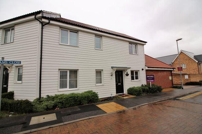 Thumbnail Terraced house for sale in Markhams Close, Basildon