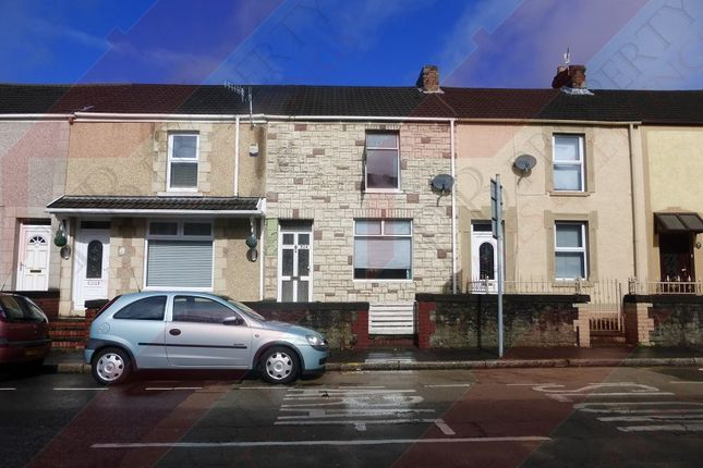 Thumbnail Terraced house to rent in Neath Road, Plasmarl, Swansea