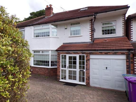 Thumbnail Detached house for sale in Hunts Cross Avenue, Woolton, Liverpool, Merseyside