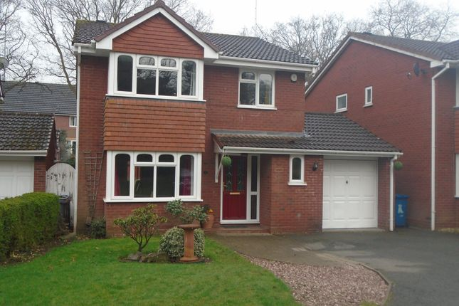 Thumbnail Detached house for sale in Wilkinson Close, Chase Terrace, Burntwood