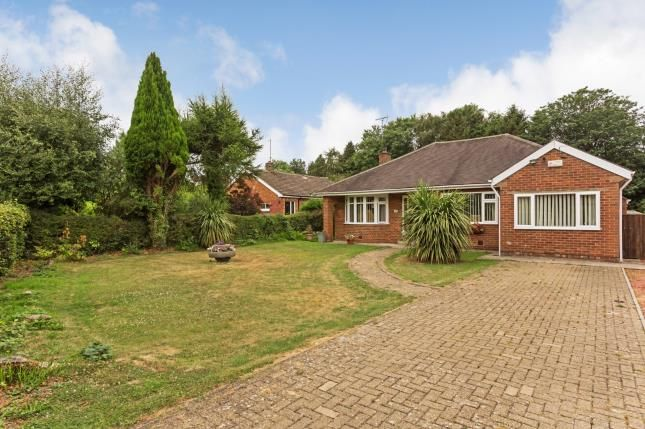 Thumbnail Bungalow for sale in Whinfell Road, Darras Hall, Ponteland, Northumberland
