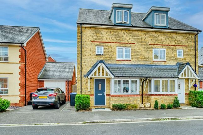 Thumbnail Semi-detached house for sale in Rosemary Way, Melksham