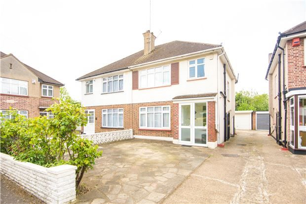 Thumbnail Semi-detached house for sale in Brookfield Crescent, Kenton, Middlesex