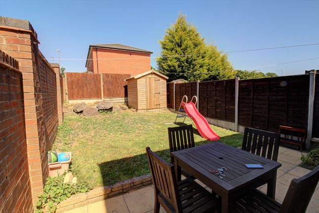 Rear Garden of The Hedgerows, Nuneaton CV10