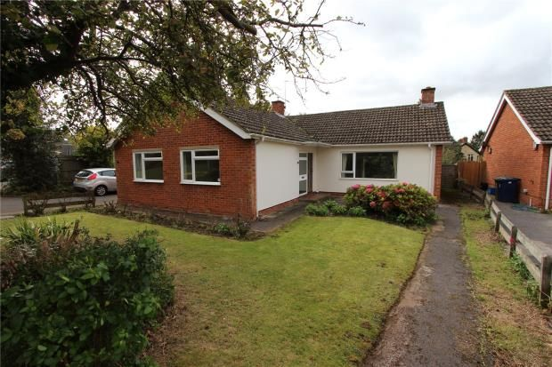 Thumbnail Detached bungalow to rent in Flaxfields, Linton, Cambridge