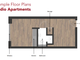 Thumbnail 1 bed flat for sale in 30 Frederick Road, Salford