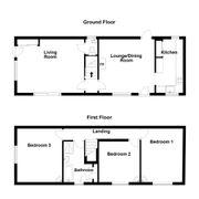 Floorplan 1 of 1 for Park Lane Cottage, Park Street