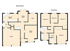 Floorplan 1 of 1 for 2 Hayfield Gardens