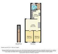 Floorplan 1 of 1 for 7a, Gladstone Villas, London Road