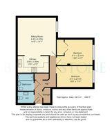 Floorplan 1 of 1 for Flat 16, Dene Court, 40 Stafford Road