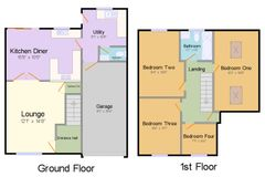 Floorplan 1 of 1 for 8 Maple Close