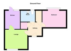 Floorplan 1 of 1 for 17, Oakmeadow Court, Ashdown Close