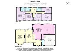 Floorplan 1 of 1 for Kentish Croft, Tower Close